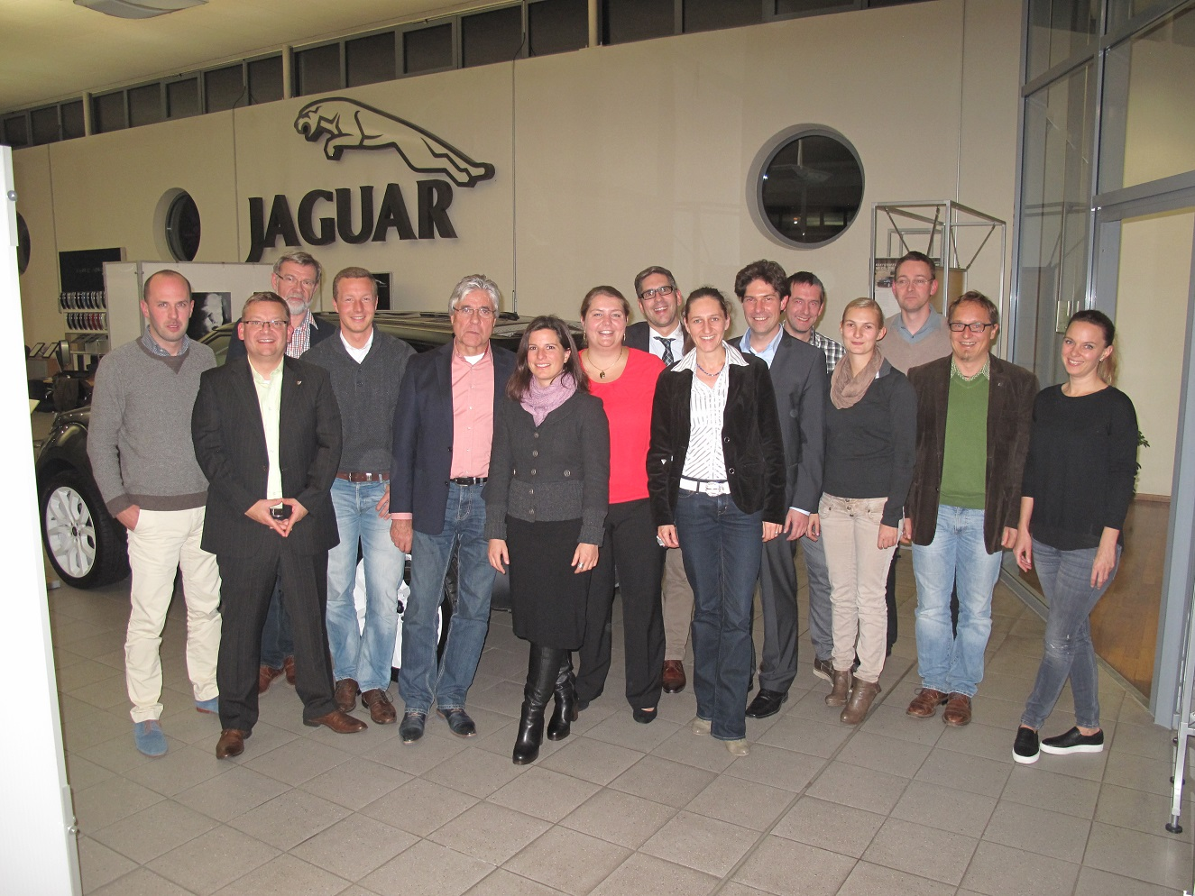 WJ Visitenkartenparty am 22.10.2015 bei PremiumCars in Raubling