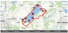 WJ Sportlich - Radtour - Simsseerunde